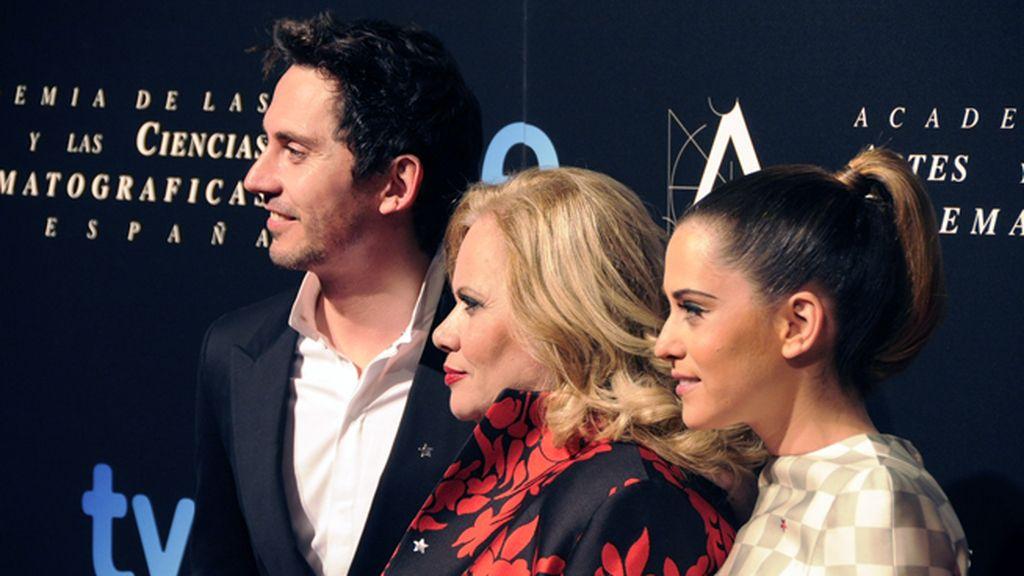 Nominados en familia: Paco y María León escotan a su madre, Carmina Barrios
