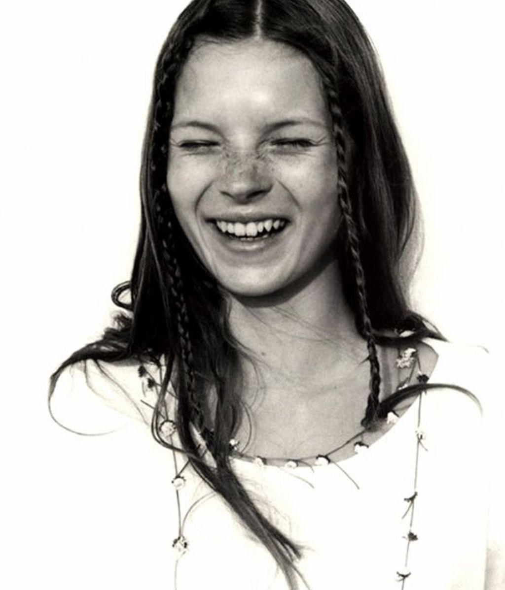 Las fotos de Kate Moss podrían salvar la vida de su descubridora