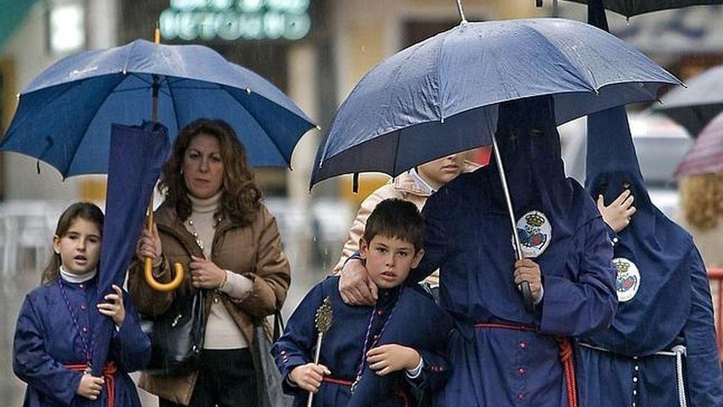 Probabilidad de lluvias a partir del Jueves Santo