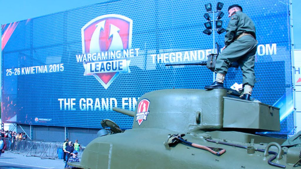 La capital polaca acoge la gran final europea de World of Tanks