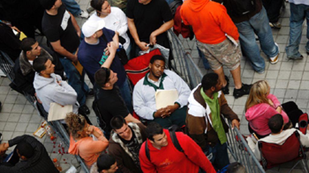 El paro aumenta en EEUU en 95.000 personas