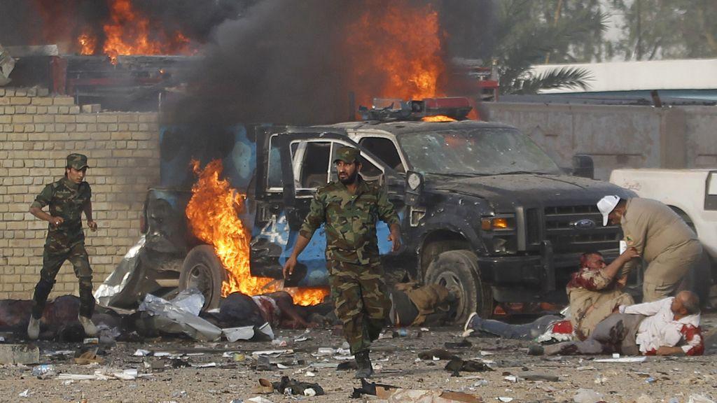 Aumentan a 28 los muertos por una cadena de explosiones en Bagdad