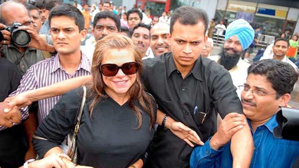 Jade llega a la India
