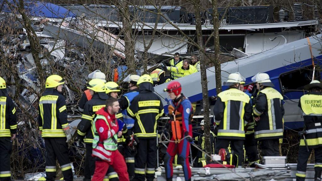 Choque de trenes en Baviera