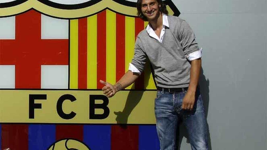 Ibrahimovic, ya en Barcelona