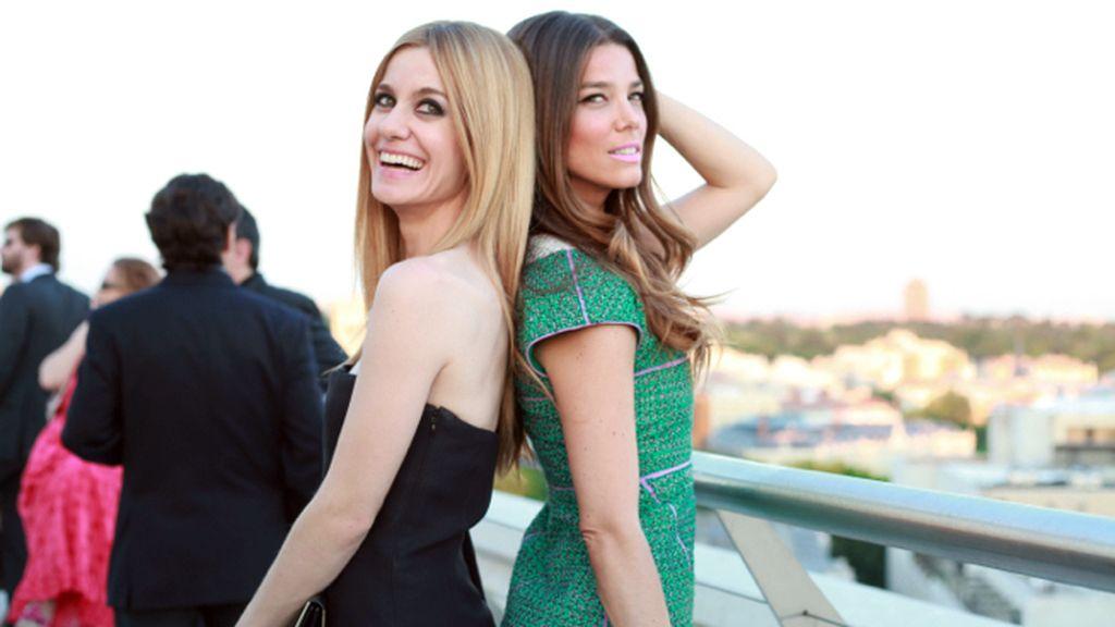 Alexandra Jiménez, de Dior, y Juana Acosta, de Chanel