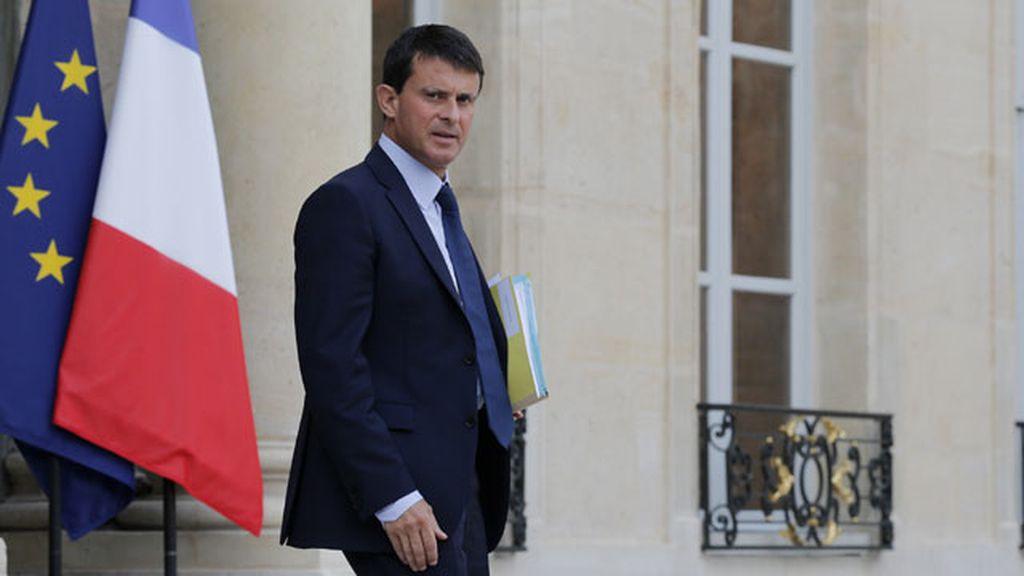 Ministro del Interior francés, Manuel Valls