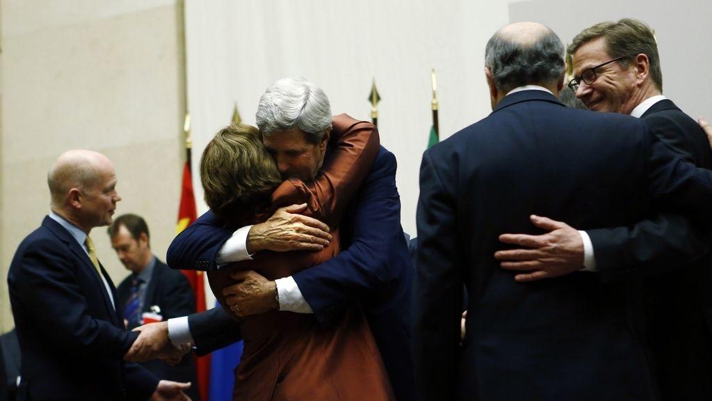Acuerdo entre los 5 más Irán. Foto: REUTERS