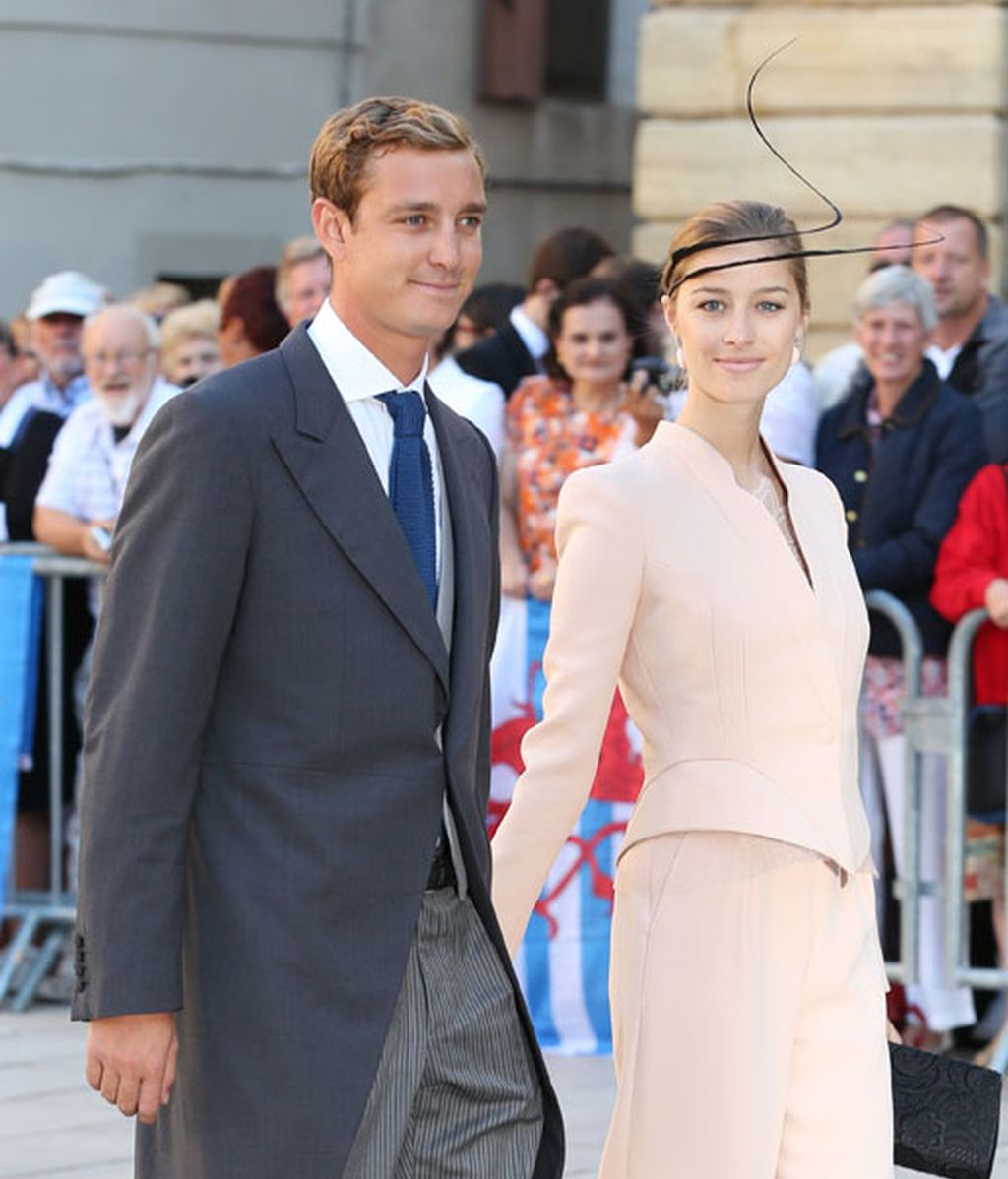 Pierre Casiraghi y Beatriz Borromeo