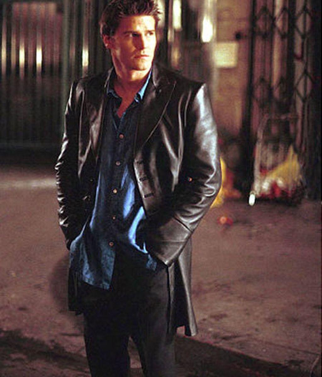 """David Boreanaz (""""Buffy Cazavampiros"""" y """"Ángel"""")"""