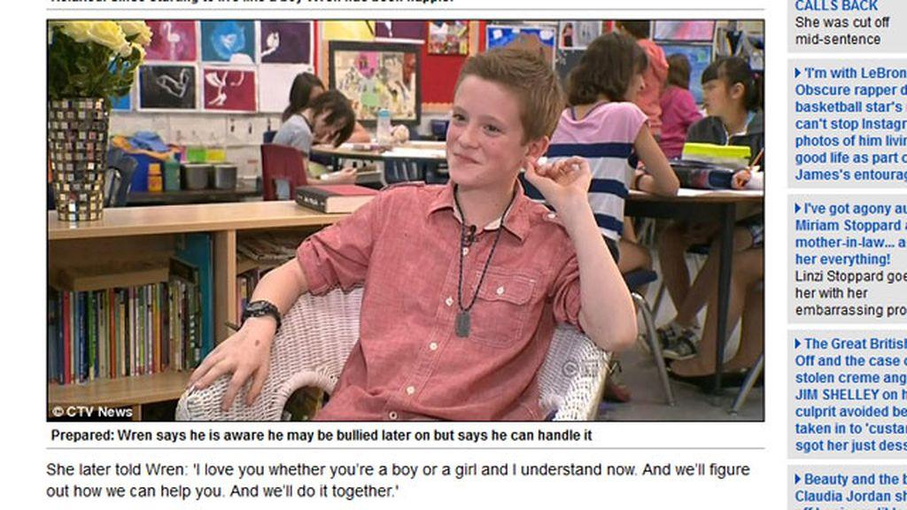 Transexual con 11 años