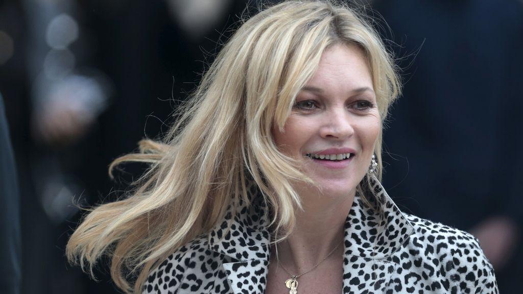 Kate Moss sufre un accidente esquiando en los Alpes suizos