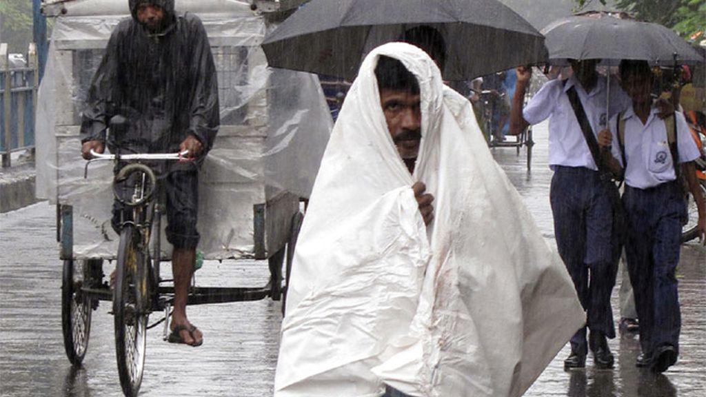 Luuvias monzónicas en la India