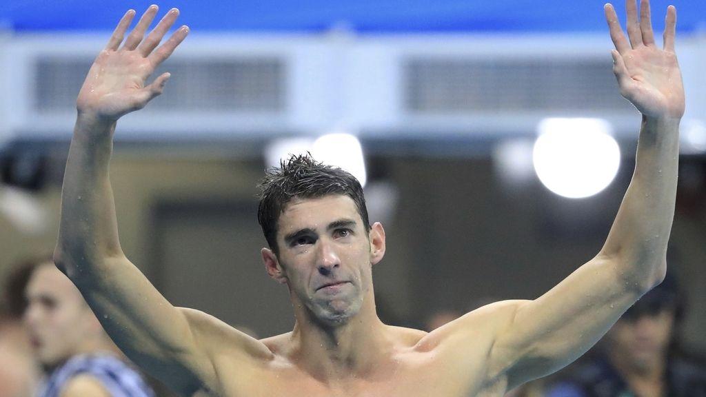El histórico Michael Phelps se despide de los Juegos Olímpicos (14/08/2016)
