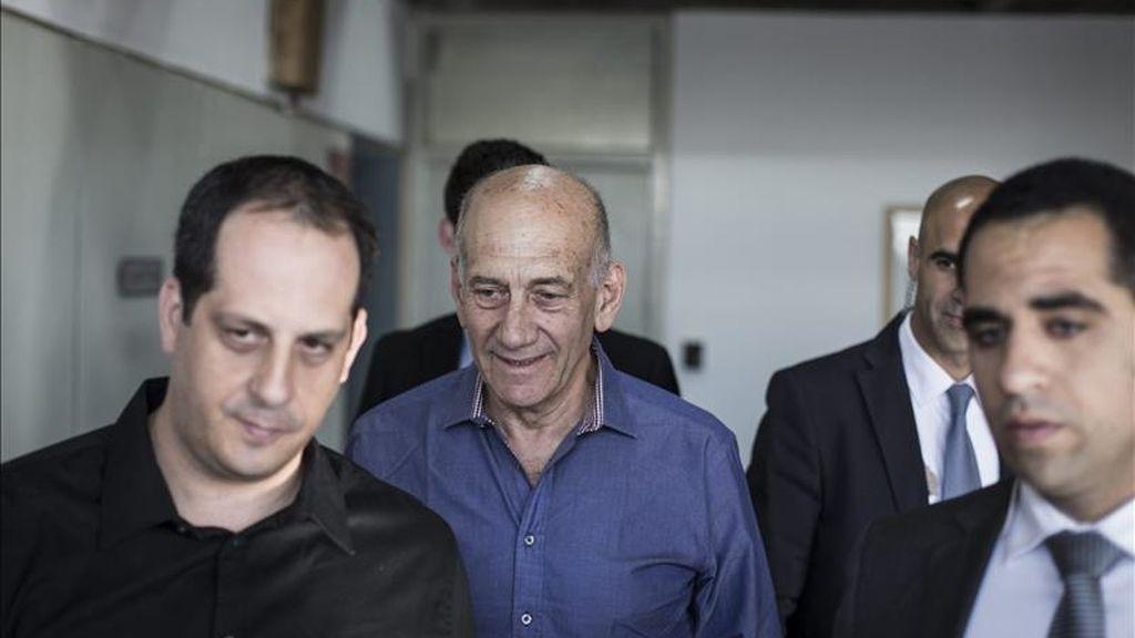 Condenado a seis años de prisión por corrupción el exprimer ministro Ehud Olmert