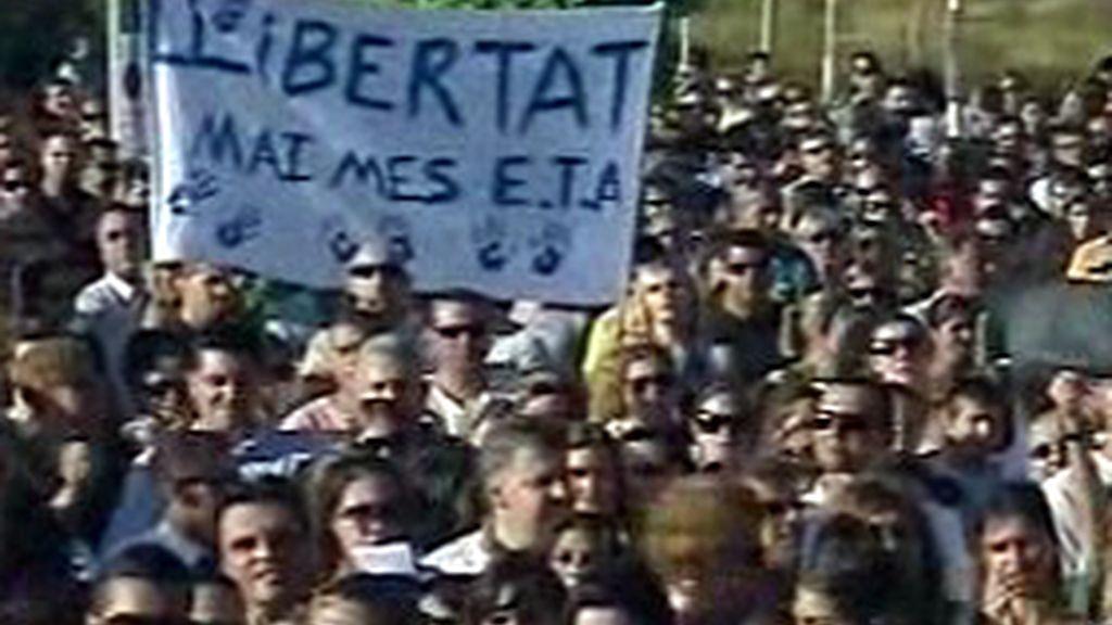 Manifestaciones en Mallorca