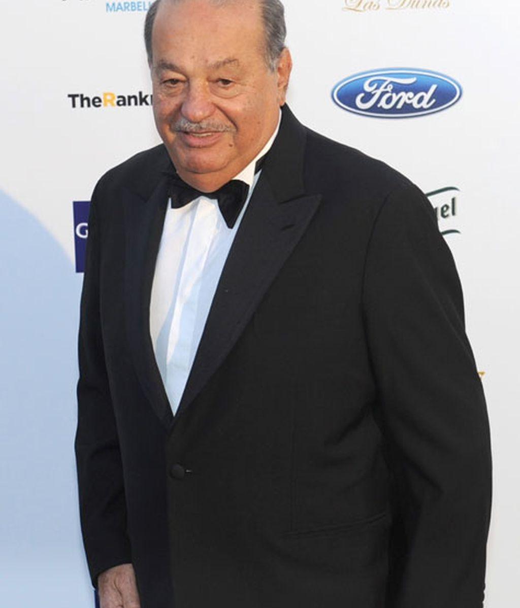 El empresario Carlos Slim