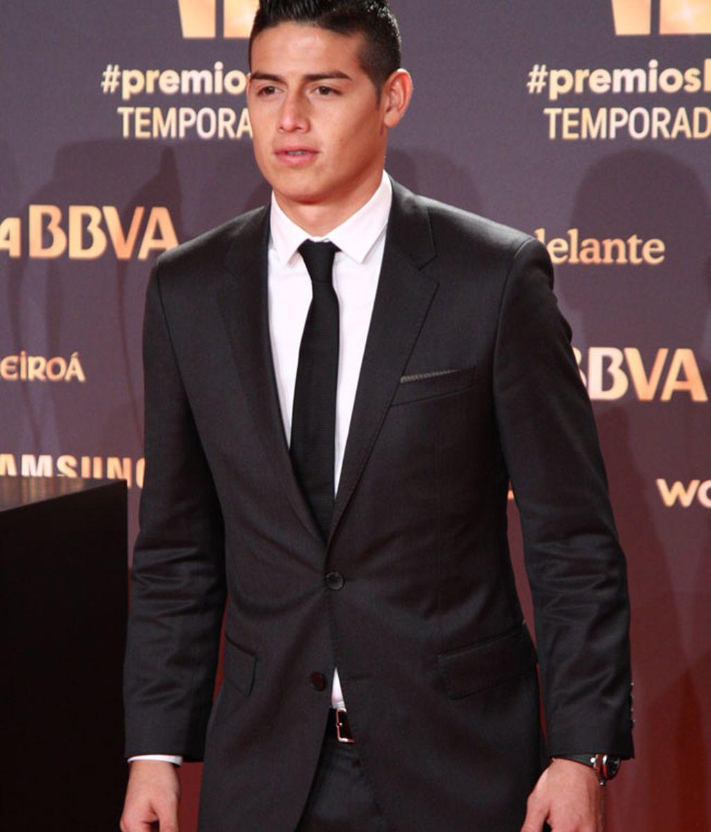 James Rodríguez también entre los premiados