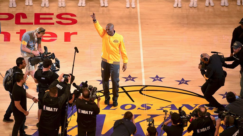 Kobe Bryant dice adiós a la NBA tras 20 temporadas