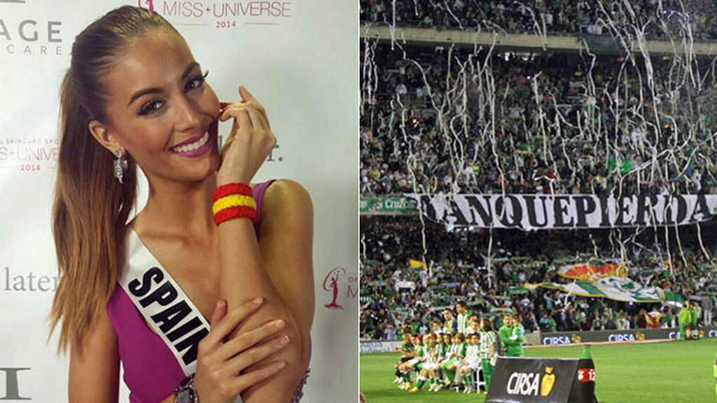 Desiré Cordero,Betis,Miss Universo