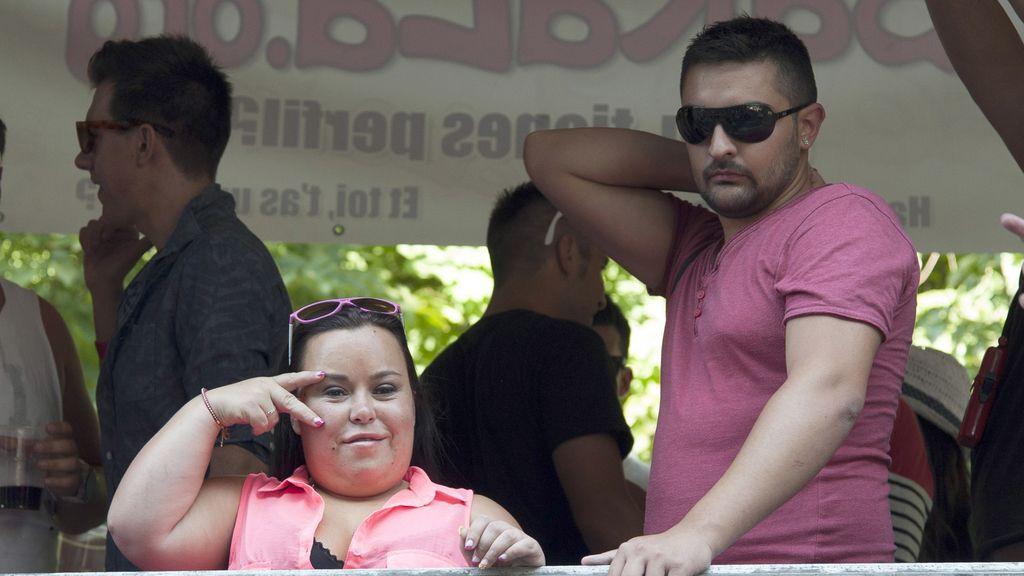 Almudena Martínez 'Chiqui' y su marido Borja