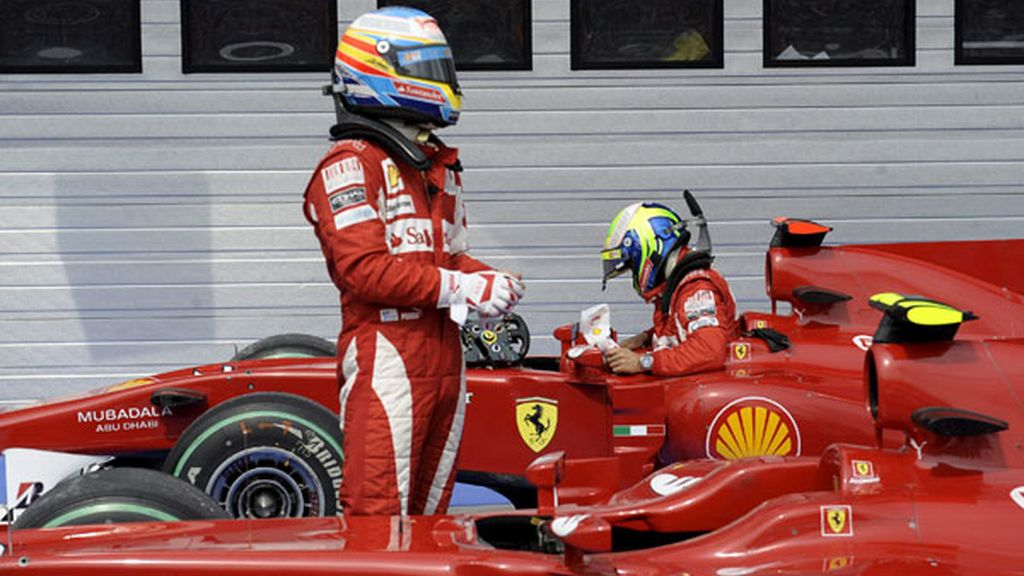 Ferrari sigue al acecho de los Red Bull