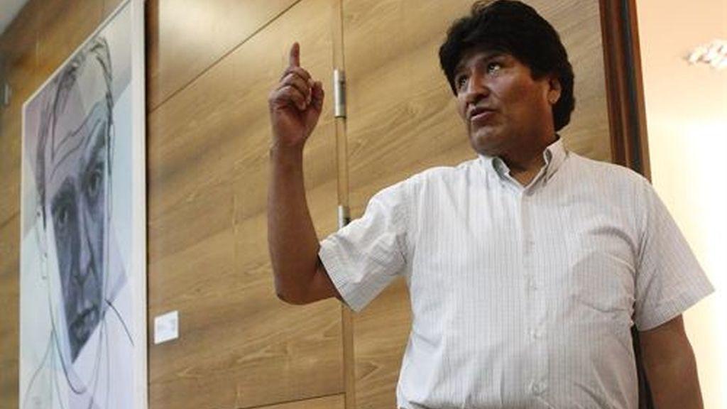 Evo Morales visita a España por primera vez tras el caso de Edward Snowden