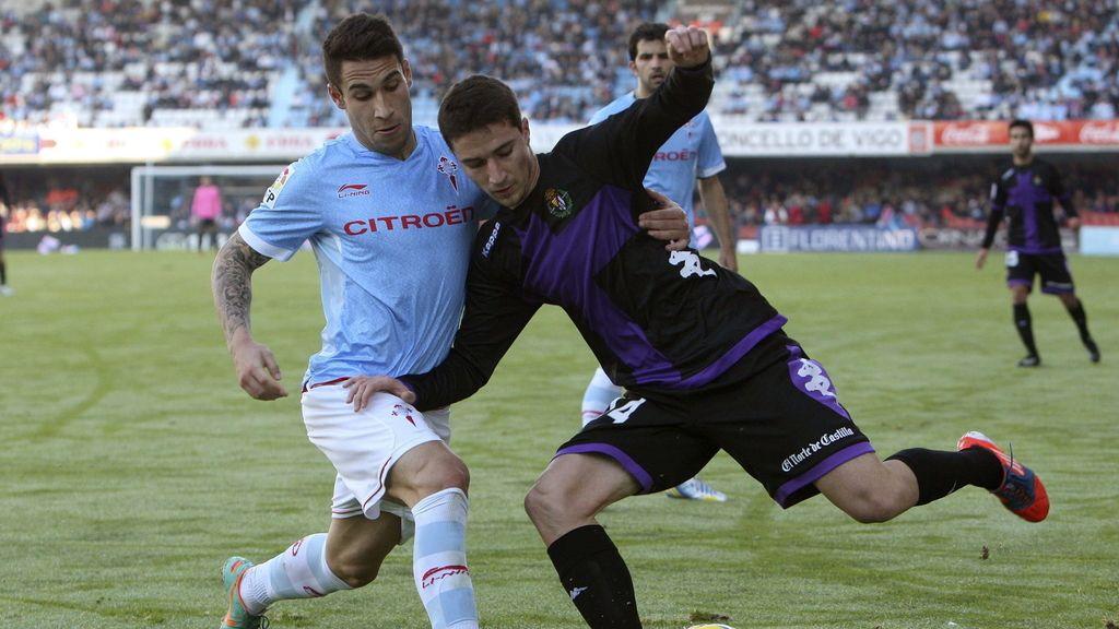 El Celta se enfrenta al Valladolid en Balaídos. Foto: EFE