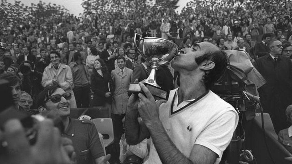 1972, el año que Andrés Gimeno conquistó Francia