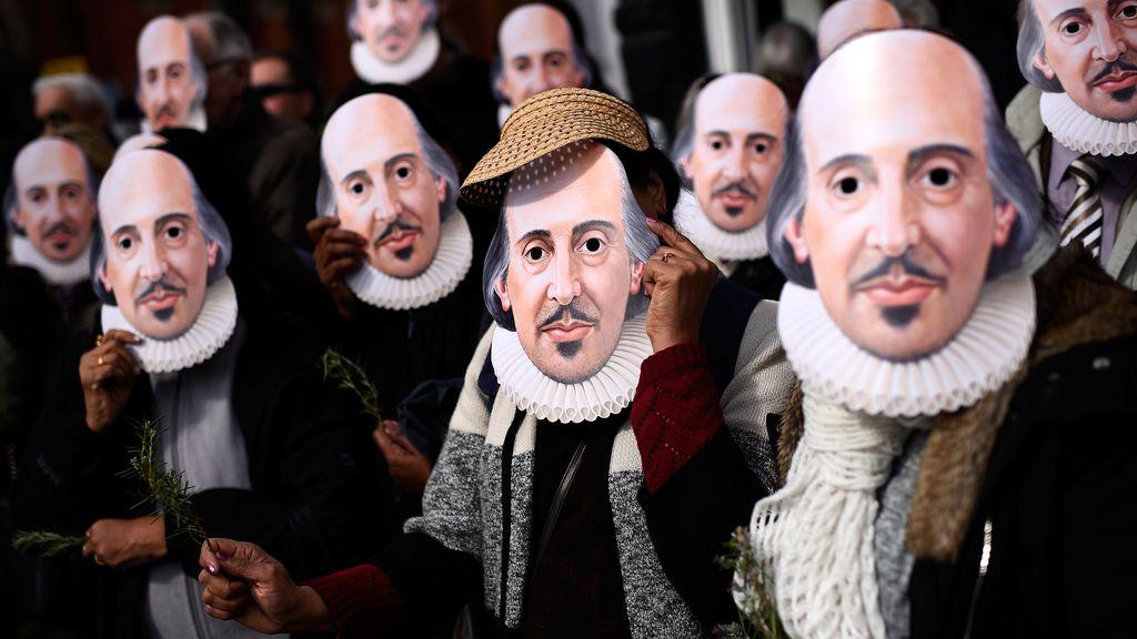 Reino Unido rinde homenaje a Shakespeare
