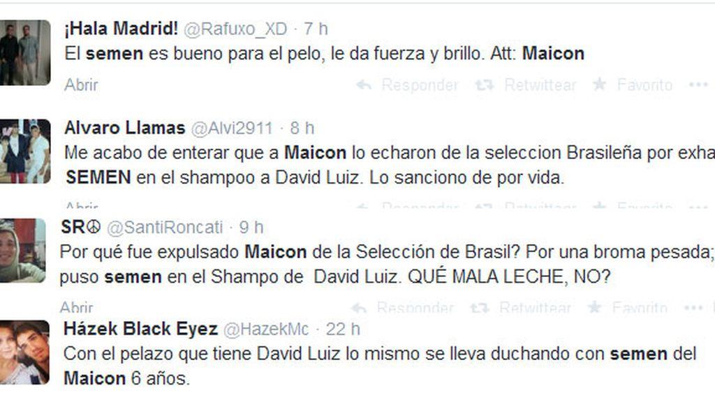 Maicon,Daviz Luiz,semen,Brasil,Dunga