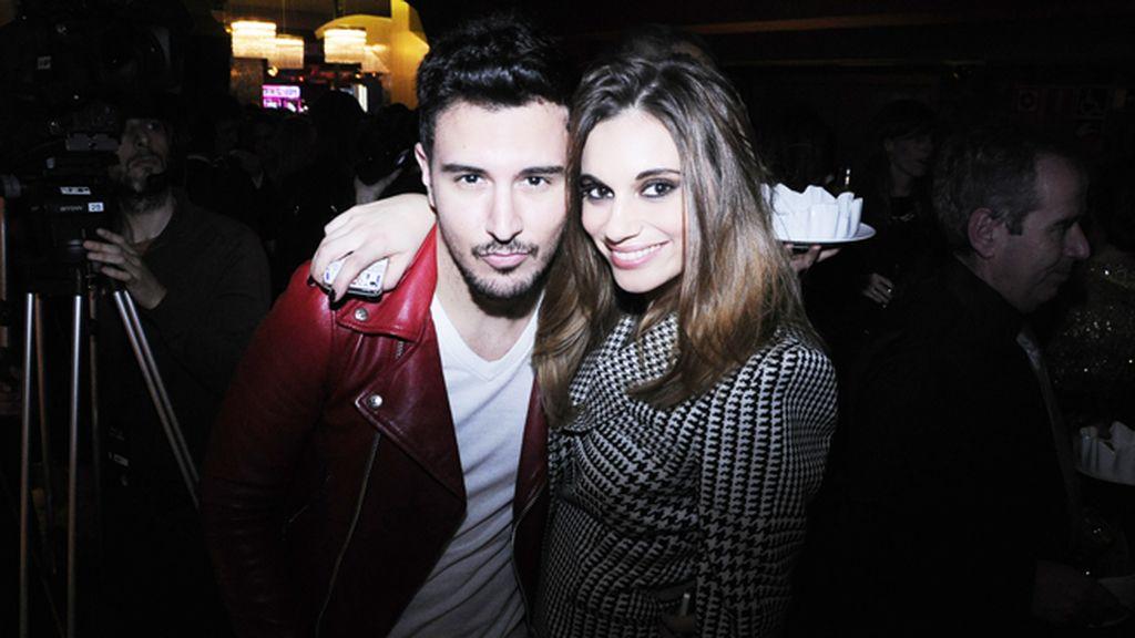 El estilista Víctor Blanco y Norma Ruiz