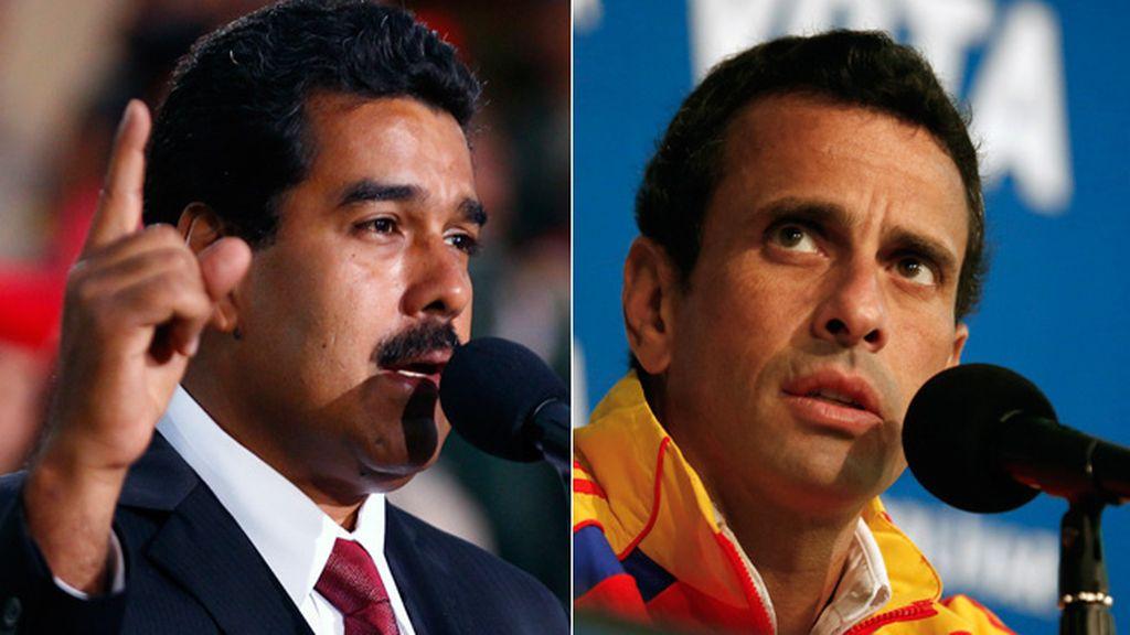 Maduro y Capriles buscan su papel en la historia de Venezuela