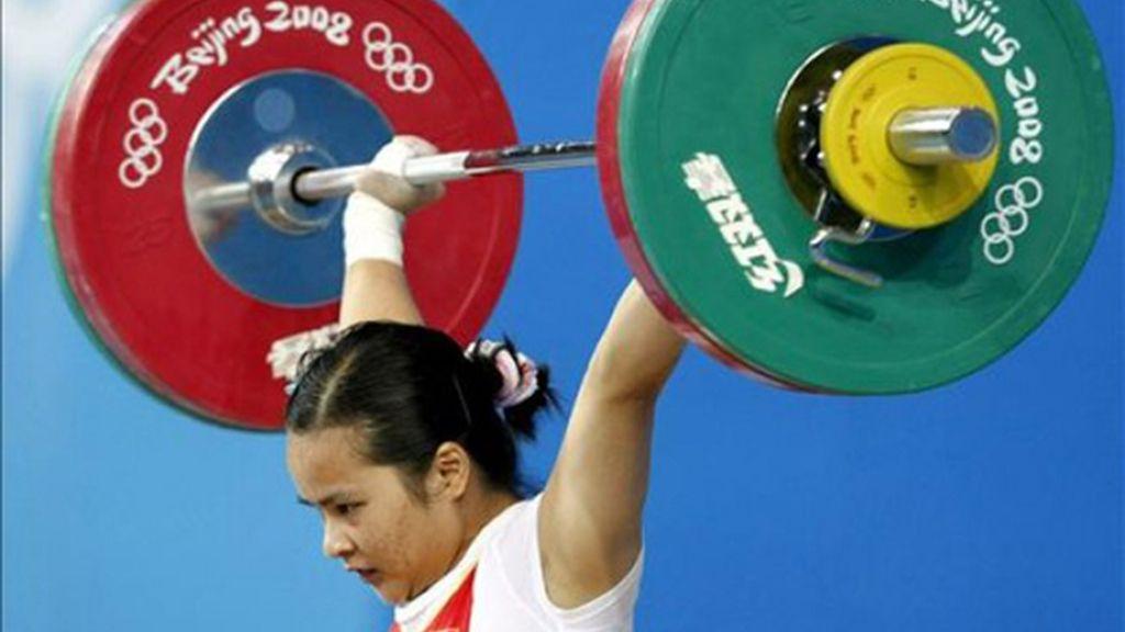 Chen Xiexia logra en -48kg el primer oro para China