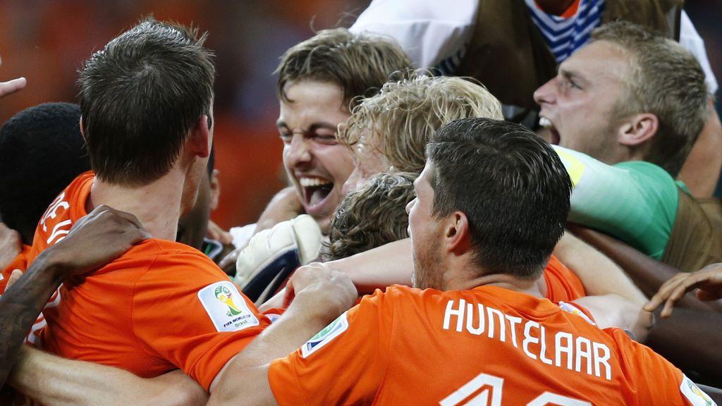 Holanda, a semifinales
