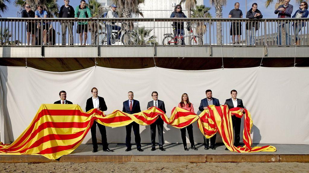 Elecciones catalanas. Foto: EFE