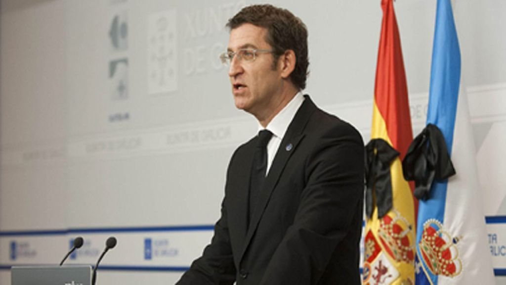 """Feijóo: """"Galicia actuó como una gran familia tras el golpe más duro de su historia reciente"""""""