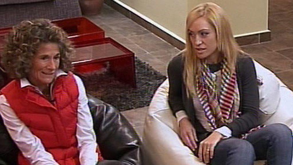 Luján Argüelles con Diana Molina, la coach de Hijos de papá