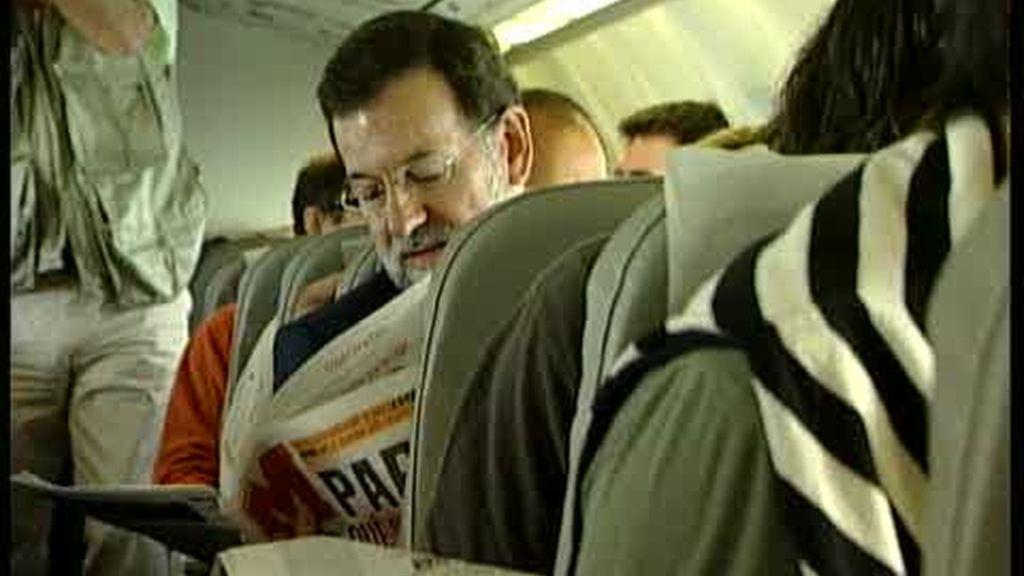 Rajoy también usó un Falcon