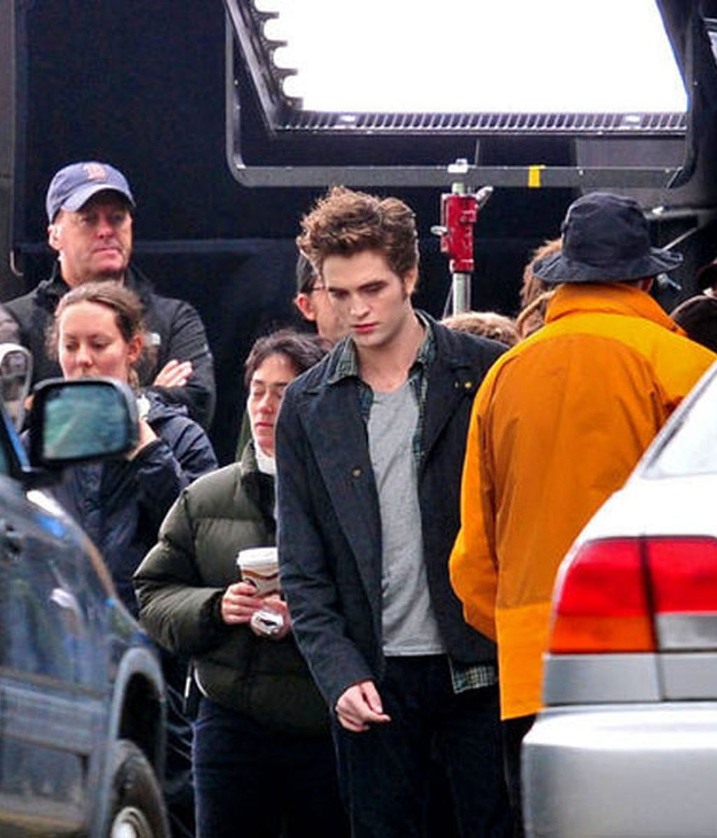 Pattinson rueda 'Eclipse'