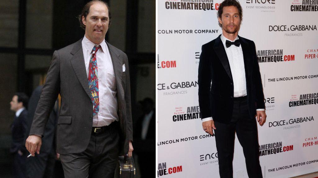 Matthew McConaughey vuelve a cambiar por un papel