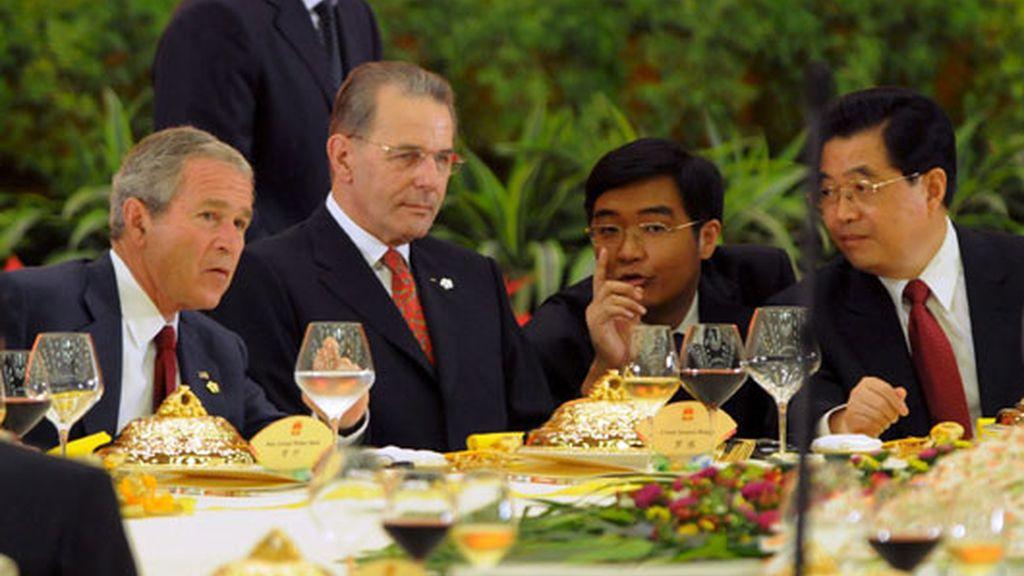 Llegó Bush