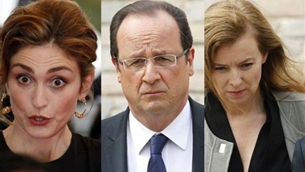 El escándalo amoroso de Hollande no afecta al índice de satisfacción de su mandato