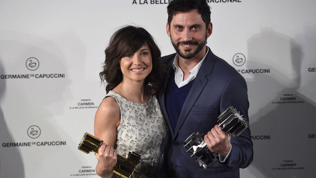 Marian Álvarez y Paco León, los guapos del cine español
