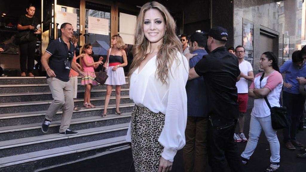 La actriz Aroa Gimeno lució un espectacular cambio de look