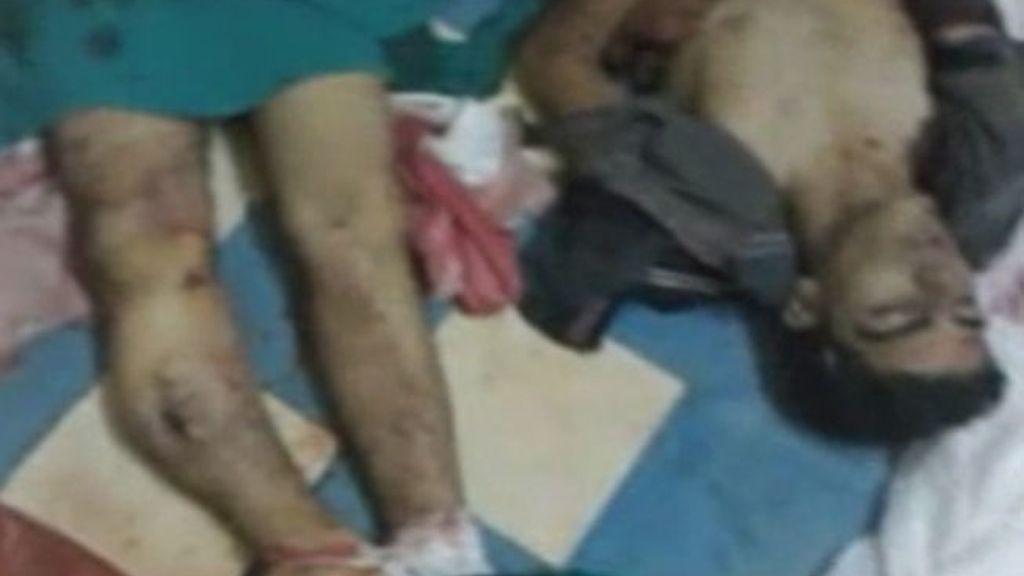 Bombardeo en Dera, Siria