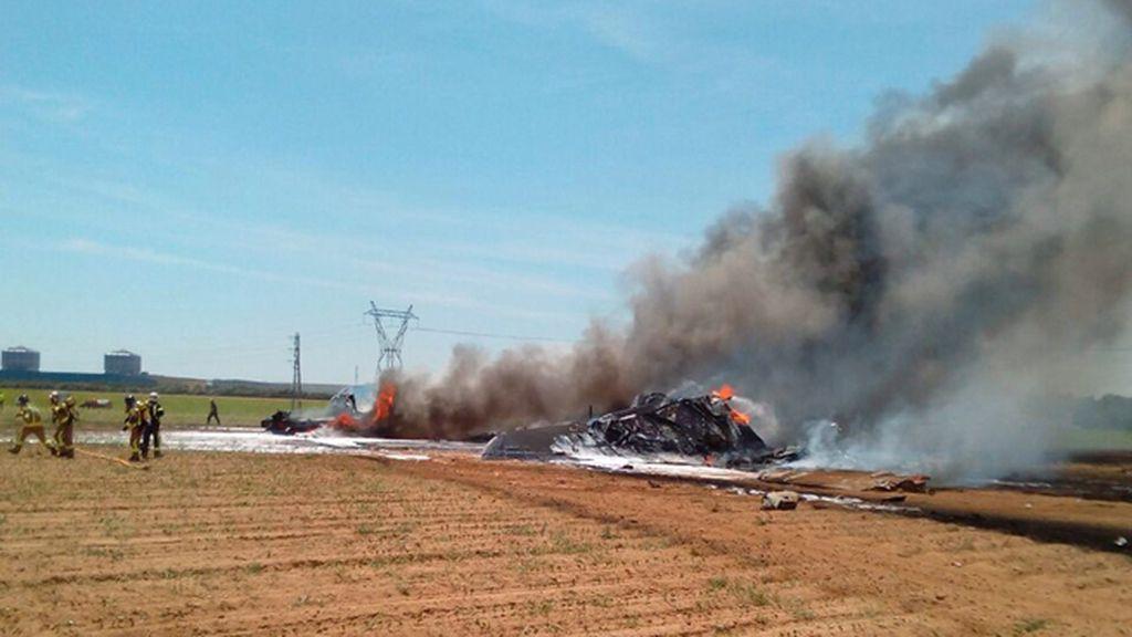 Tragedia aérea en Sevilla