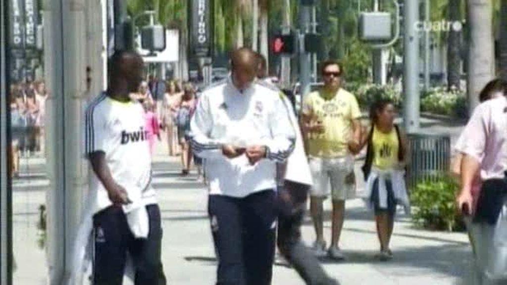 Último día del Real Madrid en Los Ángeles