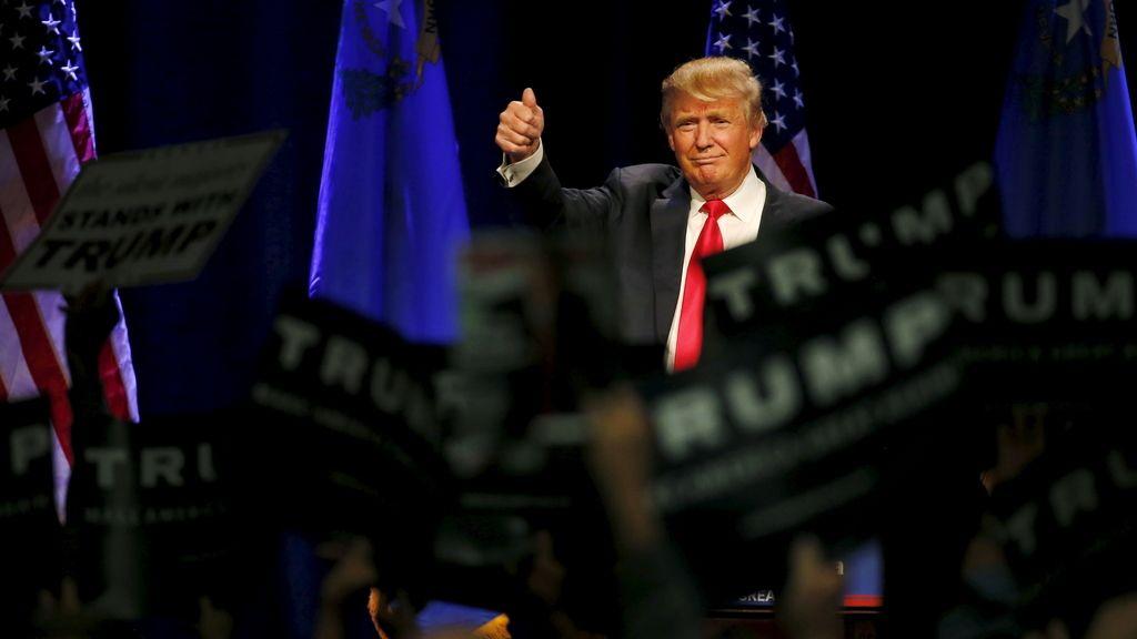 Trump lidera las encuestas