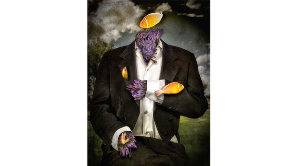 Surrealismo, un 'hombre submarino'